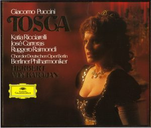 Tosca Front Cover